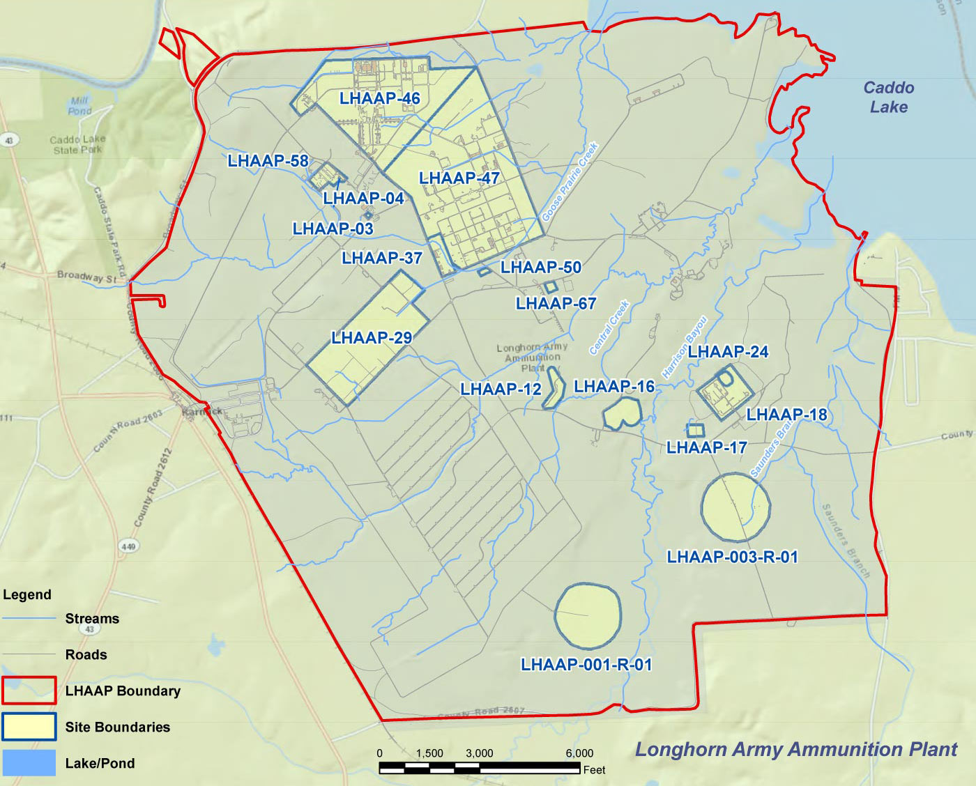 LHAAP Map